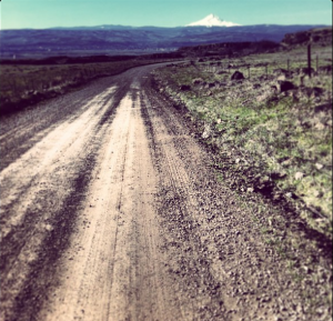 Dalles Mtn Road. Mile 100 for me, mile 10 on the 60 mile loop.