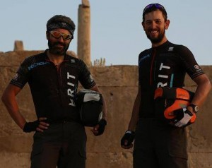 Reza and Steven capturing their time in Egypt.