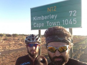 Only 1,045 kilometers to the finish!
